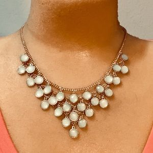 Claire's light green necklace